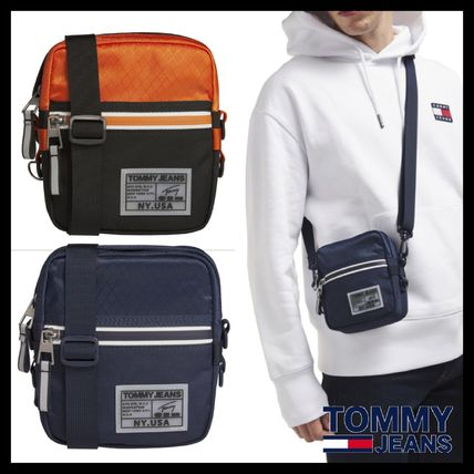 TOMMY JEANS メッセンジャーバッグ トミージーンズ メンズ