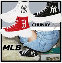 ☆送料・関税込☆MLB KOREA★CHUNKY HIGH Sneakers★人気
