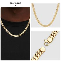 【TOM WOOD】☆新作☆ Curb 7 Chain Gold 20 inches