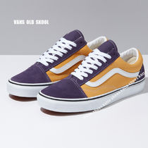 VANS★OLD SKOOL 2-TONE★兼用★HONEY GOLD/PURPLE VELVET