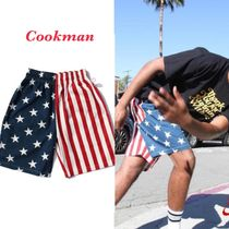 Cookman クックマン Chef Short Pants - Crazy : U.S.A. 国旗柄