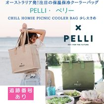 【Pelli】天然素材ピクニックバッグ☆保温保冷☆'Chill Homie'