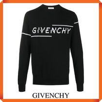 GIVENCHY 'Logo embroidered' SWEATER