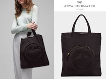 Anya Hindmarch(アニヤハインドマーチ) トートバッグ 即発送★Anya Hindmarch☆Wink Chubby Tote トート 関税/送料込