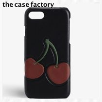 the case factory*iPhone 7/8用 ケース チェリー柄*関税送料込み