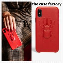 the case factory*iphone X/XS ビートル柄RED*関税送料込み