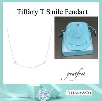 [Tiffany & Co.] Tiffany T Smile Pendant, Medium, Silver