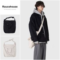 Raucohouse(ラウコハウス) ショルダーバッグ・ポシェット 割引クーポン◯◆RAUCOHOUSE◆TWO WAY COTTON BAG