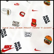 国内発送・正規品★ナイキ NIKE★MEN'S ALL OVER PRINT FOOD TEE