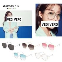 IU着用 [VEDI VERO] soft square sunglasses VE2094