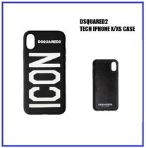 [DSQUARED2] TECH IPHONE X/XS CASE (送料関税込み)