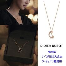 【Didier Dubot】Signature D Necklace GOLD - JDRNRWF14XX