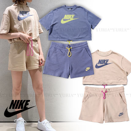 Nike セットアップ 国内発【NIKE】W NSW ICN CLSH TOP&SHORT☆セットアップ