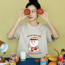 ユニセックス★oh, lolly day!★O,LD! T-shirts_ Milk