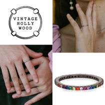 ★人氣★VINTAGE HOLLYWOOD★RAINBOW RING