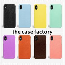 the case factory*i phone X/XS LIZARD 名入れOK*関税送料込み