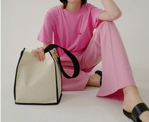 ★MARGE SHERWOOD★CANVAS/COW LEATHER SHOPPER