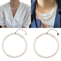 Vintageholly wood★芸能人着用 Natural Pearl Necklace 2 Type