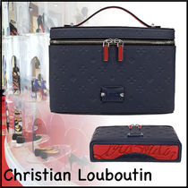 ★Christian Louboutin★Kypipouch 2wayバッグ ネイビー