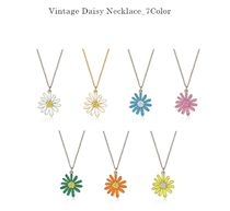 Vintage hollywood★韓国アイドル着用 Vintage Daisy Necklace
