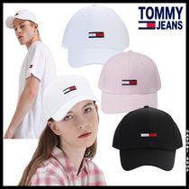 20SS ★TOMMY HILFIGER★ 兼用 コットン フラッグ キャップ 3色