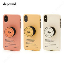 depound★BE MY D iPhoneケース スマホグリップset [追跡送料込]