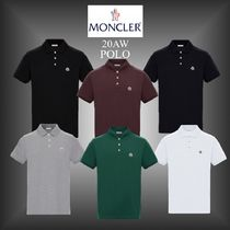 20AW★新作★MONCLER★POLO メンズ コットンポロシャツ