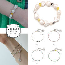 ★人氣★VINTAGE HOLLYWOOD★SMILE N DOT SEED BRACELET SET_4色