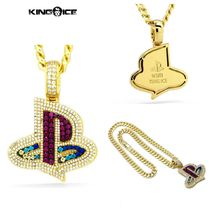 【King Ice】Inspired by PlayStation XL Iced PS Logo Necklace