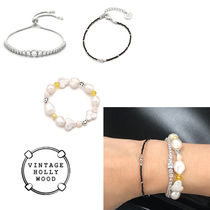 ★人氣★VINTAGE HOLLYWOOD★ALL CRYSTAL SMILE BRACELET_3SET_