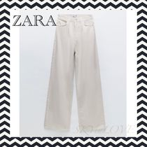 【ZARA】Z1975 WIDE LEG DARTS デニムパンツ
