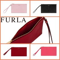 FURLA『関税込み』BABYLON XL ENVELOPEポーチ R640