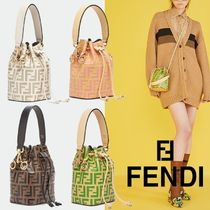 FENDI☆MON TRESOR leather☆ミニ2wayバッグ☆送料込