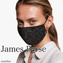 JAMES PERSE(ジェームスパース) マスク ◆NEW◆James Perse◆ GLOBAL GRAPHIC マスク