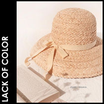 ★追跡&関税込【Lack of Color】Bloom Raffia Hat
