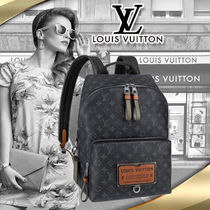 LOUIS VUITTON 直営店 黒 ディスカバリー・バックパック PM
