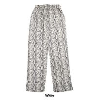 ASCLO Off python wide banding pants (2color)