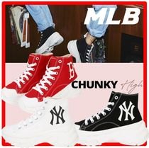☆送料・関税込☆MLB Korea☆CHUNKY HIGH Sneakers☆3色☆