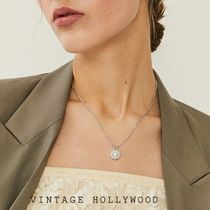 Vintage hollywood★韓国アイドル着用 Flower Pearl Necklace