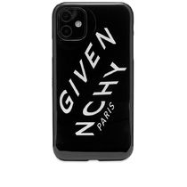 GIVENCHY  REFRACTED LOGO IPHONE XIケース