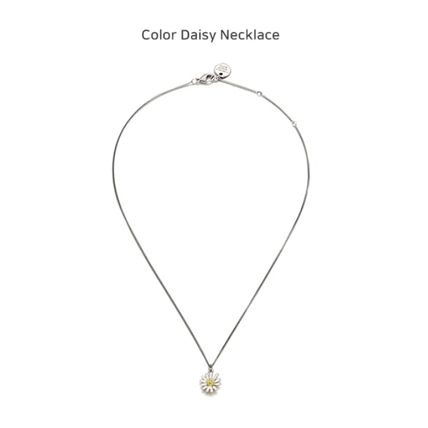 VINTAGE HOLLYWOOD ネックレス・ペンダント 国内発送[VINTAGE HOLLYWOOD]Color Dot Seed+Daisy Necklace SET(5)