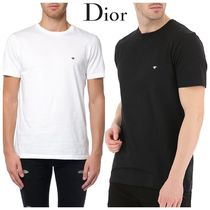 DIOR HOMME T-SHIRT WITH BEE EMBROIDERY