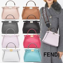 FENDI☆PEEKABOO ICONIC MINI☆2wayミニバッグ☆送料込