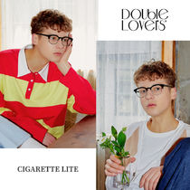 人気商品◇double lovers◆ CIGARETTE LITE メガネ ♪♪