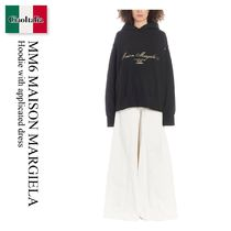 Mm6 Maison Margiela Hoodie with applicated dress
