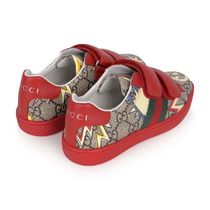 NEW!大人もOK☆ GUCCI ロケットGGスニーカー(red)