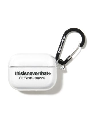thisisneverthat T-Logo AirPods Pro Case Clear