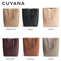 [CUYANA]☆Tall Structured Leather Tote☆6色☆