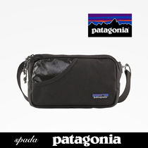 SALE【Patagonia】ロゴ ボディバッグ ブラック / 送料無料