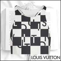 【20AW新作】Louis Vuitton ダミエ クロップドビキニトップ